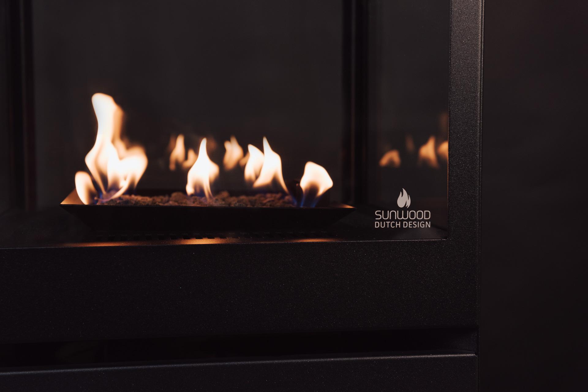 Sunwood Marino Midnight Sky Limited Edition Winter 2017 Patio Fire