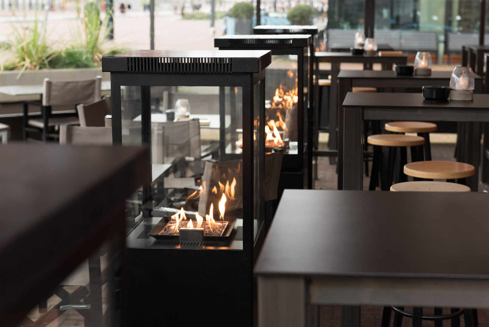 Sunwood Marino Patio Fire Terrace POL Rotterdam Restaurant Terrace