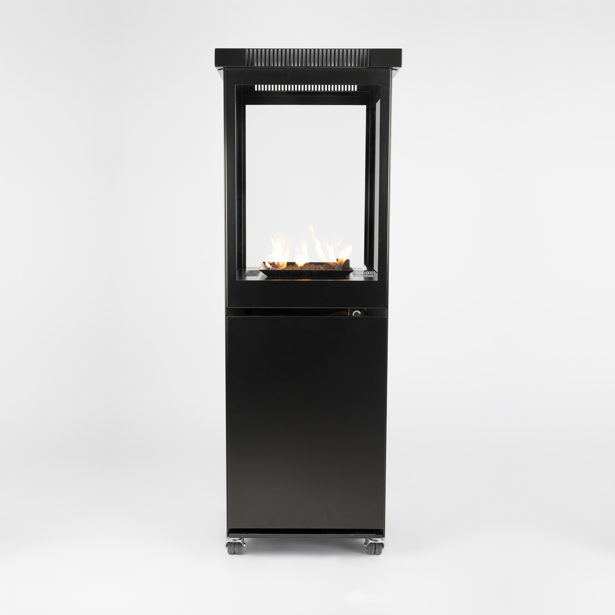 Sunwood Marino Original Jet Black Patio Fire Design Product