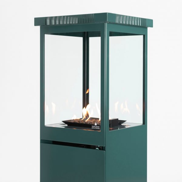 Sunwood Marino Premium Custom Colour Patio Fire on wheels